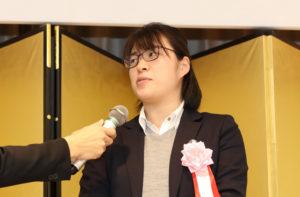 日本郵便賞を受賞された郡司志保さん