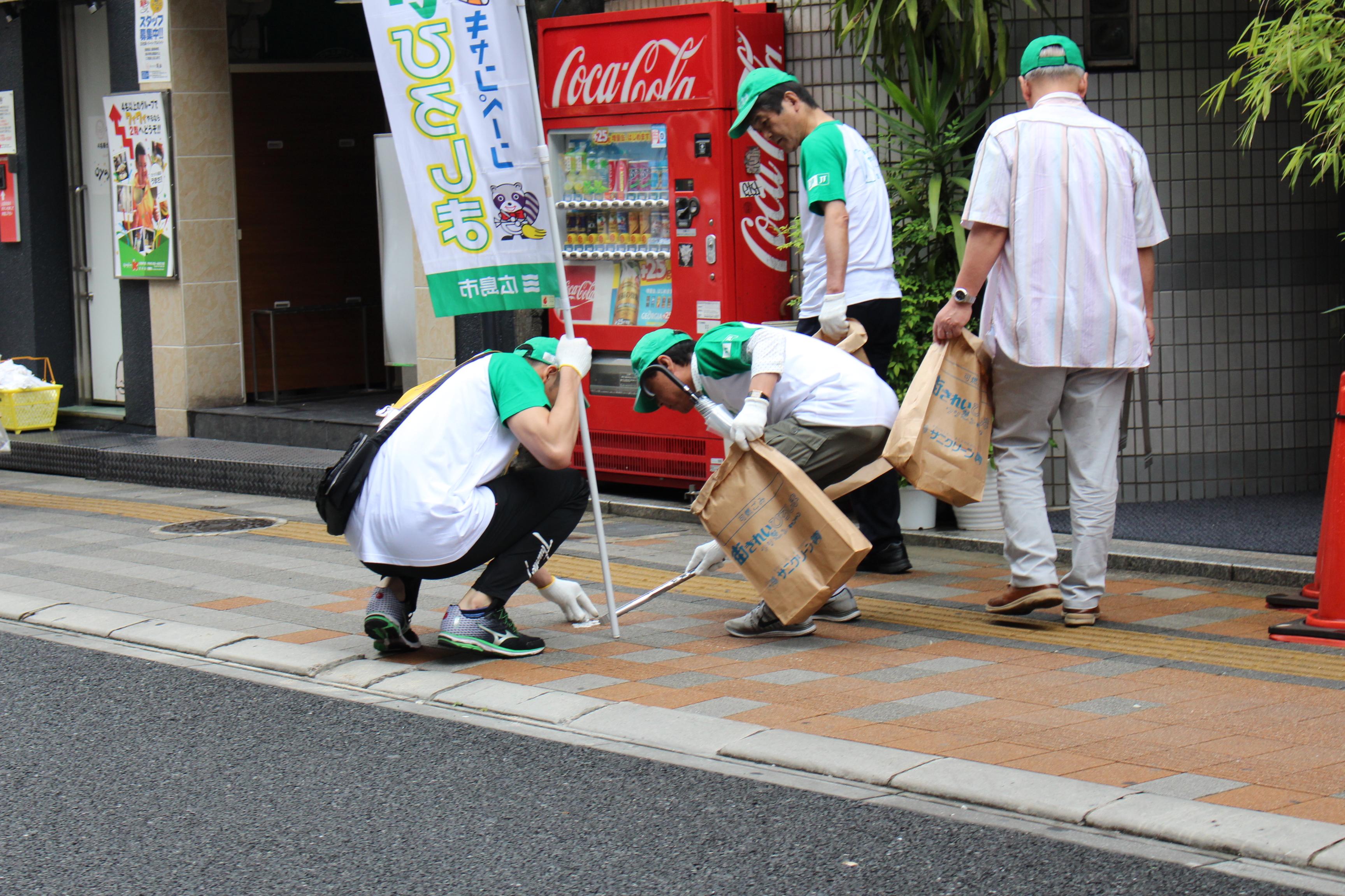 2016年6月5日(日)広島市内で日本列島クリーン大作戦が実施されました