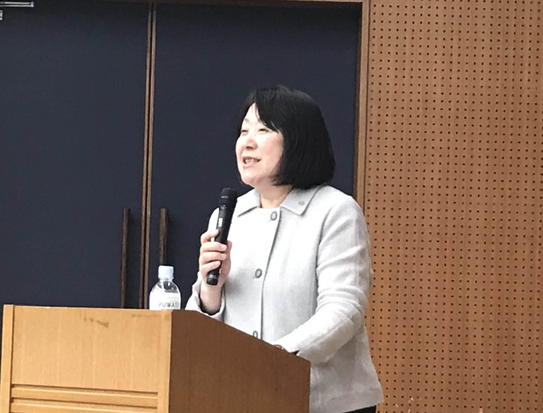 千葉興業銀行の新入行員研修で講演